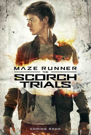 MAZE RUNNER : THE SCORCH TRIALS – Newt – US Movie Wall Poster Print - 30CM X 43CM