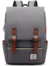 HASAGEI Vintage Unisex Casual School Bag Travel Laptop Backpack Rucksack Daypack Tablet Bags 29 * 43 * 13.5 cm