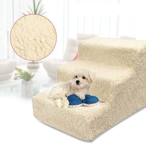 Pet 3 Steps Stairs Staircase With Cover for Little