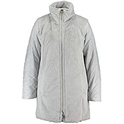 MS Mode Damen, Webpelzjacke, Grau, EU 52