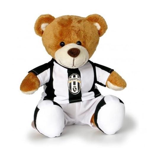 Sportbaer-26121-FC-Juventus-Teddy-beige Sportbaer 26121 Plüsch, Stofftiere, Spielzeug, Beige -
