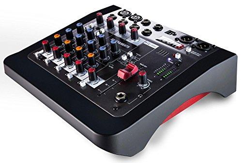 Allen & Heath ZEDi-8 Hybrid Mixer und Interface (2x2-USB-Interface mit 24 Bit und 96 kHz, inklusive Cubase LE, integrierter DI-Impendanzwandler, mit neuem GSPre Preamp, mit 2-Band-EQ, Phantomspeisung) (Mixer Allen)