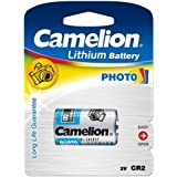 Pile photo Camelion CR2 1 lot, 3V, Lithium-Batterien [ Piles pour appareil photo ]