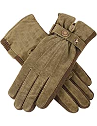 Dents Women's Warm Lined Casual Pigsuede Gloves