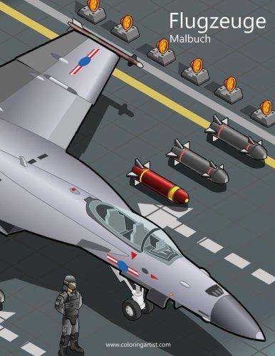 Flugzeuge Malbuch 1