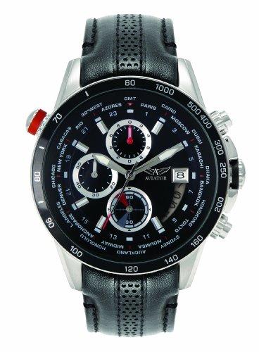 Orologio Aviator World Time Uomo-avw8974g76