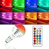 E14-Colour-Changing-Lights-with-Remote-Control3w-Led-Bulbs-Colour-LightsCool-White12-Colors-ChangingDouble-MemoryDisco-PartyHome-MoodAmbiance-Lighting