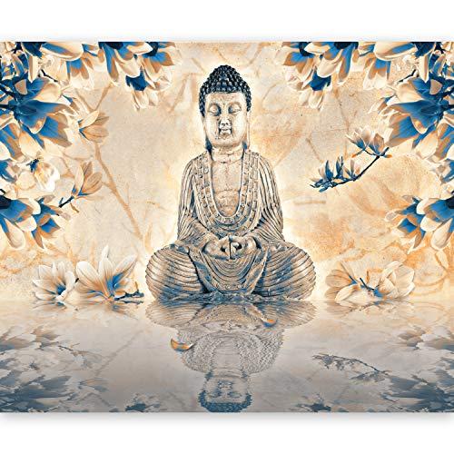 Papier peint intissé !!! Top vente !!! Papier peint !!! Tableaux muraux XXL !!!! 50x39 cm - Buddha !!! 10040907-49