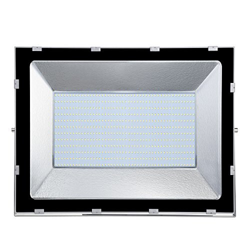 CampHiking® Security Lights,LED FloodLight,500W,Super Bright Landscape Spotlight,40000lm IP65 Waterproof Outdoor Work Flood Lights,Security Light For Patio, Deck, Yard, Garden (Cold White) -