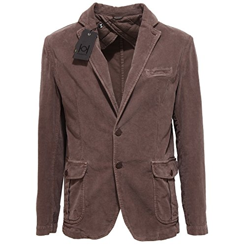 6199Q giacca uomo HAMAKI-HO marrone jacket men brown [48]
