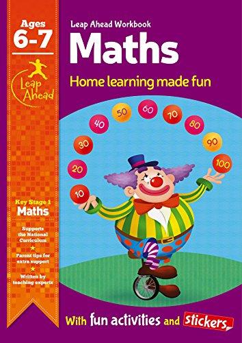Math Age 6-7 (Leap Ahead Work Books)