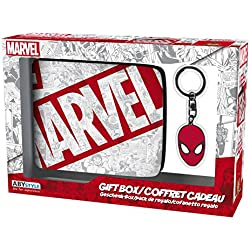 Set regalo Marvel & Spiderman. Billetera y llavero