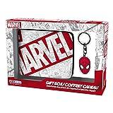 ABYstyle Marvel - Coffret Cadeau Portefeuille + Porte-clés Spiderman