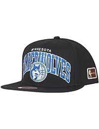 Mitchell    Ness Gorra Luxe 110 Minnesota Timberwolves Negro Tienda ... a554d7ea223