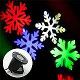 Schneeflocken-Leuchtturm-wasserdichte bewegliche Außenschneeflocken-Anzeigen-Außenwand-Licht-Landschaftsprojektor-Außenbeleuchtung