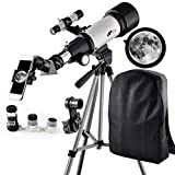 Best Telescopes - Telescope 70mm Apeture Travel Scope 400mm AZ Mount Review