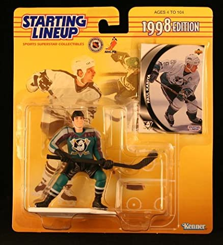 1998 Paul Kariya NHL Starting Lineup by Starting Line Up (Paul Kariya Nhl)