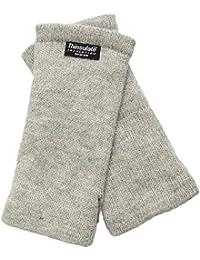 EEM Strick Wollstulpe Pulswärmer MAYA mit Thinsulate Thermofutter aus Polyester, Strickmaterial aus 100% Wolle oder 100% Baumwolle je nach Farbe