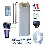 Adoucisseur d'eau FLECK NEVADA 30 litres avec accessoires