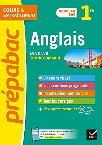 Anglais 1re (tronc commun) - Prépabac: nouveau programme de Première 2019-2020