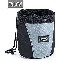 PetPäl Bolsa del forraje para Perros Bolsas para Perro & Caballo | Snack Bag con Clip & lengüeta, Funda para el Entrenamiento de Perros Accesorios | Snack, cinturón, Forro Bolsa de Saco, Perros Funda
