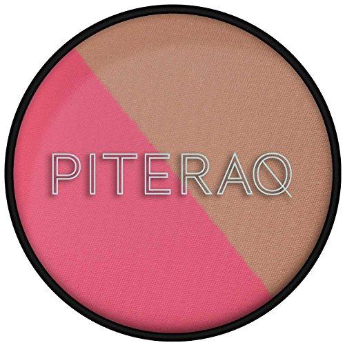 PITERAQ - Fard à Joues Rose Naturel Chaud + Rose Vif - Lac Rose 19°E - 32°E - 99% NATUREL - Vegan et Cruelty Free - 9 gr
