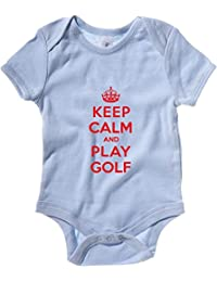 Cotton Island - Baby Bodysuit OLDENG00846 keep calm play golf