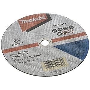 51fNs8YZbxL. SS300  - Makita P-05773 - Disco de corte metal 230mm