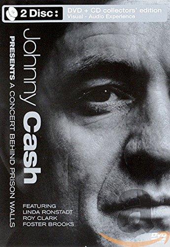 Preisvergleich Produktbild Johnny Cash - Presents a Concert Behind Prison Walls (+ Audio-CD) [Collector's Edition]