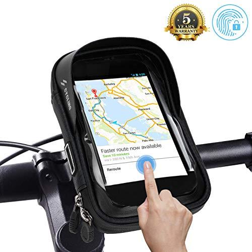 Bolsa Para Manillar de Bicicleta, Soporte Para Teléfono de Bicicleta, Resistente al Agua, Soporte Para Teléfono Móvil para IPhone XS MAX XR X 8 7