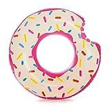 Intex - Rueda hinchable donut rosa, 107 x 99 cm (56265)