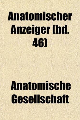 Anatomischer Anzeiger (bd. 46)