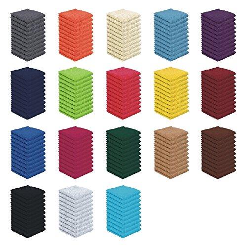 10er Pack - Seiftücher Set - 10 Seiftücher 30x30 cm - Farbe Royalblau