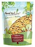 Food to Live chips di banana Bio (Biologico, Organic, non ogm, kosher, insoddisfatto, alla rinfusa) - 453 grammi