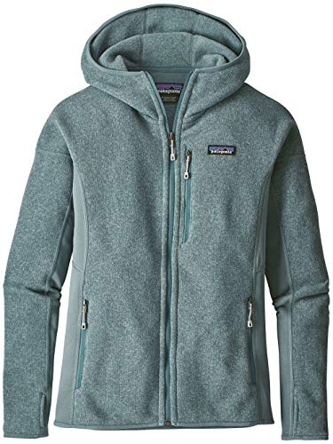 Patagonia Damen Fleecejacke Sweater Hooded Fleece Jacket (Patagonia-hooded Fleece)