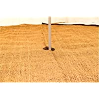 tenty.co.uk 4M Coir Matting full Moon Bell tent Camping Glamping