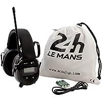 ACOUFUN Kopfhörer Radio Gehörschutz Hochleistungs offiziellen-Stunden-LE MANS preisvergleich bei billige-tabletten.eu