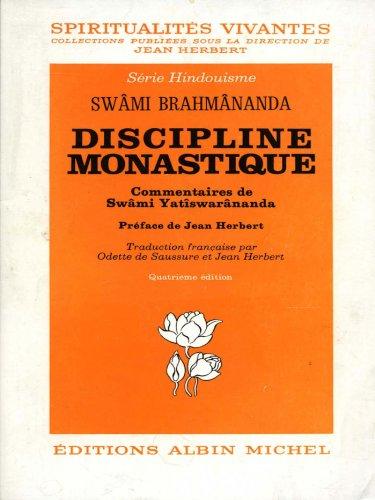 Discipline monastique
