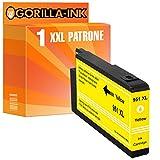 Gorilla-Ink® 1x Druckerpatrone XXL ersetzt HP 951 XL Yellow Officejet PRO 8600 Plus E-All-In-One 8600 Premium 8610 8610 All-In-One 8615 All-In-One 8620