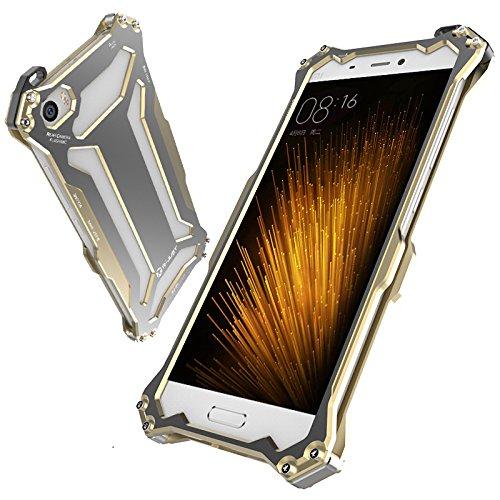 Nueva r-just Gundam estilo teléfono móvil Protección Carcasa Metal Case Prueba de...