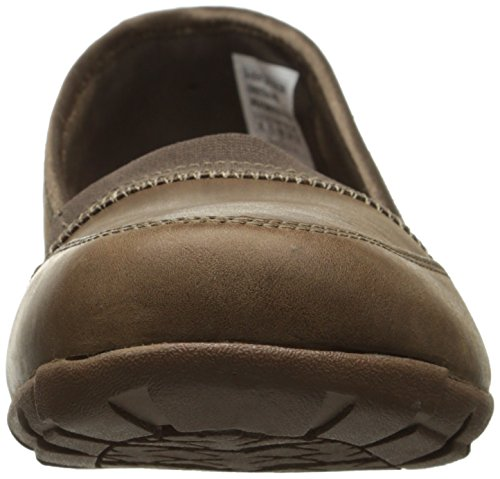 Skechers carriera 9 To 5 Slip-on piatto Brown Leather