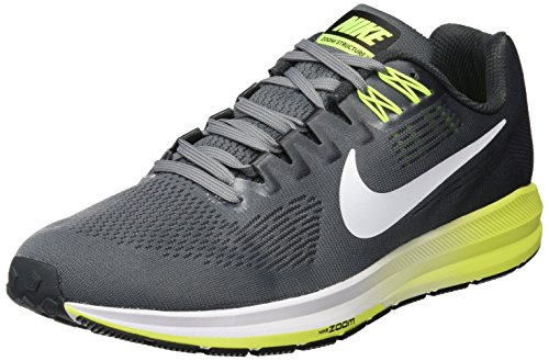 brand new 02b30 ac1ea Nike Air Zoom Structure 21, Scarpe Running Uomo, Multicolore (Cool  Grey White