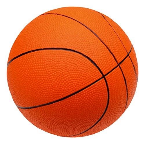 Sport-Thieme PU-Schaumstoffball Basketball | Sehr gut springender Softball | Orange | Durchmesser 200 mm | 290 g | Schaumstoff mit PU-Beschichtung