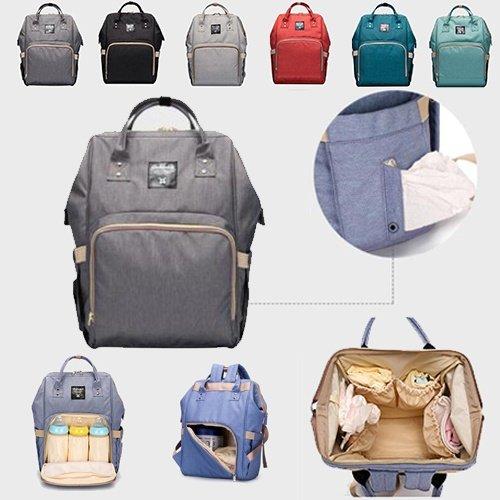 Baby-Windel-Beutel-Windel-Tasche Mutter Schultertasche Mode Umstands Mama-Handtaschen Wasserdichte Kinderwagen-Tasche