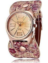ufengke® einzigartige pastoralen stil roségold zifferblatt blumen trägerkleid geschenk armbanduhren für damen mädchen,ein