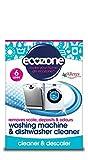 Écozone Nettoyant pour machine à laver et lave-vaisselle (Lot de 2paquets de 6, 12 lavages au total)
