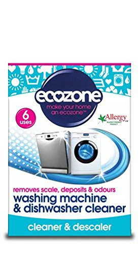 Ecozone Washing Machine and Dishwasher Cleaner, 6 uses