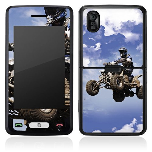 Cookie Quad (DeinDesign LG KP502 Cookie Case Skin Sticker aus Vinyl-Folie Aufkleber Quad Motocross Sport)