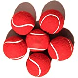 Cricket Ball Red Color Advanced Training Cricket Match Balls Weighted Practice Ball Pack Of 6 By R.P.M Sports