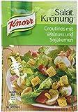 Knorr Salatkrönung Croutinos mit Walnuss und Sojakernen, 10er Pack (10 x 25 g)